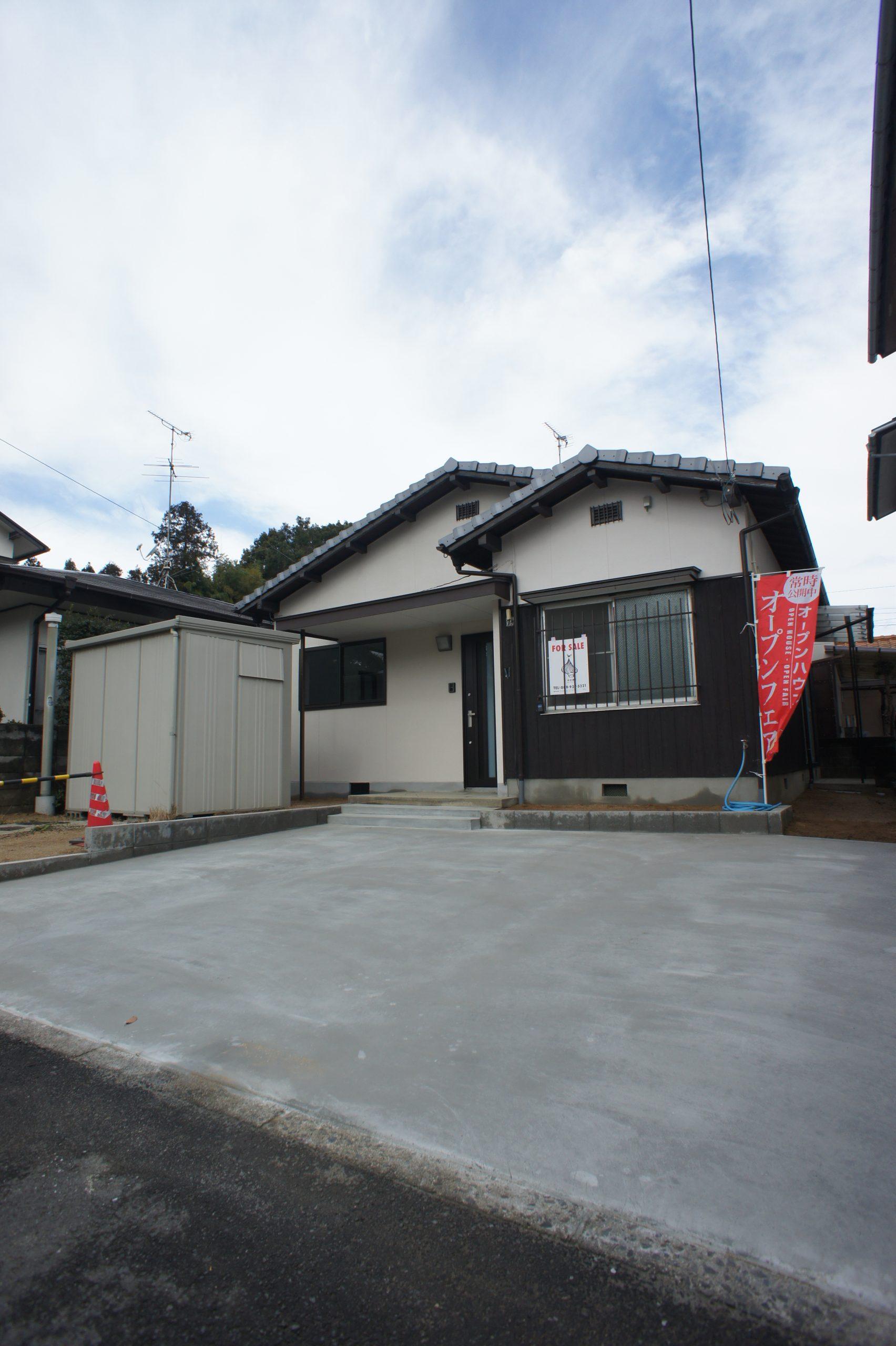 リノベーション施工販売例    ~昭和の平屋2K→2LDKに~