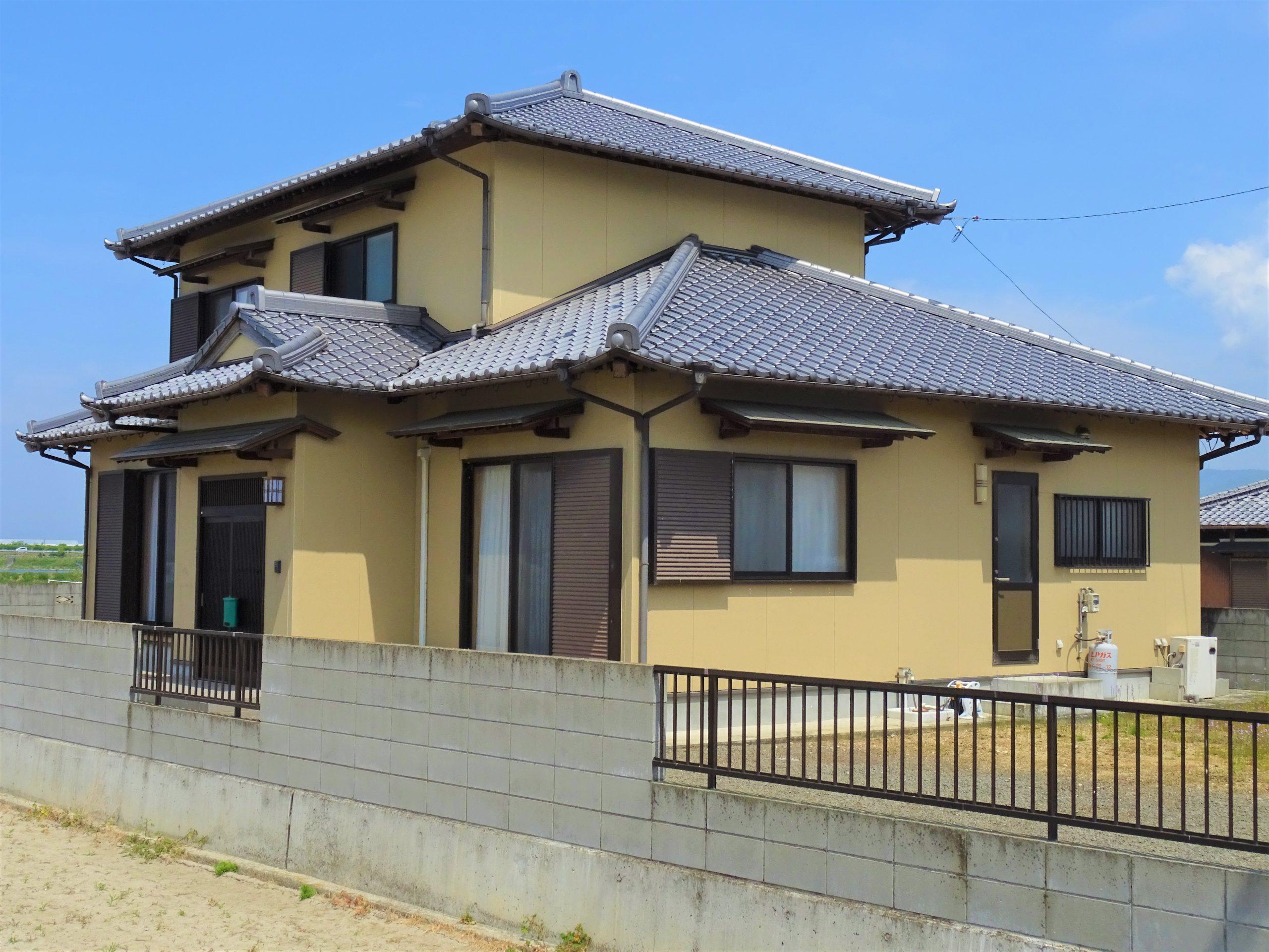 観音寺市大野原町中姫 落ち着いた佇まいの和風住宅