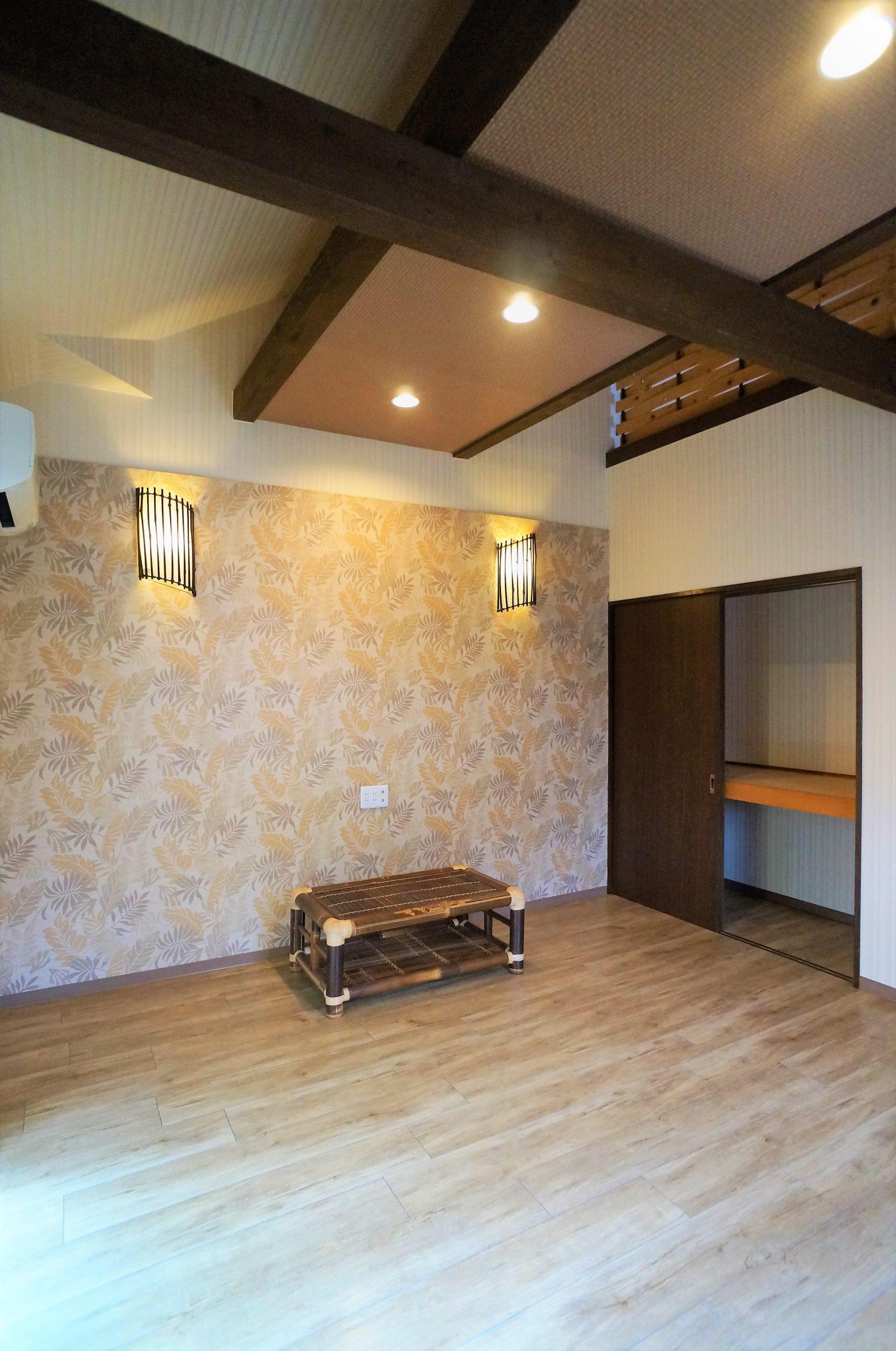 鷹ノ子駅近の賃貸物件~ハイツサブリナ2階ロフト アジアンの部屋~